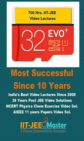 IIT JEE Video Lectures: Chemistry Maths Physics for 1 year in SD-Card